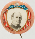 "Political:Pinback Buttons (1896-present), William Jennings Bryan: Gorgeous 7/8"" Button...."