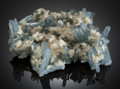 Minerals:Cabinet Specimens, BARYTE. Sterling Mine, Stoneham, Weld County, Colorado, USA....