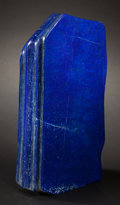 Lapidary Art:Carvings, ELECTRIC BLUE LAPIS LAZULI SCULPTURE. Afghanistan. ...