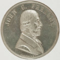 Political:Tokens & Medals, John C. Frémont: Large Graphic Medal....