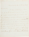 Autographs:U.S. Presidents, James Buchanan Autograph Letter Signed....