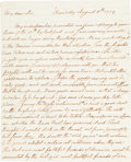 Autographs:Military Figures, Richard Henry Lee Autograph Letter Signed....