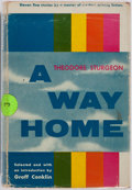 Books:Science Fiction & Fantasy, Theodore Sturgeon. SIGNED. A Way Home. New York: Funk & Wagnalls, 1955. First edition, first printing. Publisher's b...