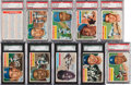 Baseball Cards:Lots, 1956 Topps Baseball Shoe Box Collection (332). ...