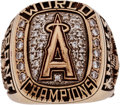 Baseball Collectibles:Others, 2002 California Angels World Series Wife's Ring....