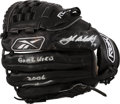 Baseball Collectibles:Others, 2006 Josh Beckett Game Used Signed Fielder's Glove. ...