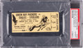 Football Collectibles:Tickets, 1943 Green Bay Packers Vs. Pittsburgh/Philadelphia Steagles Ticket Stub PSA Authentic. ...