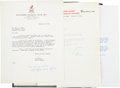 Autographs:Letters, 1920's-60's Baseball Correspondence Lot of 45....