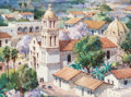 Works on Paper, THOMAS HILL (American, b. 1925). Spring in Old Mexico. Watercolor on paper . 9 x 12 inches (22.9 x 30.5 cm) (sheet). Sig...