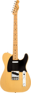Musical Instruments:Electric Guitars, 1951 Fender Telecaster Butterscotch Blonde Solid Body ElectricGuitar, Serial # 0900....