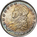 Bust Half Dollars, 1829 50C Small Letters MS64 NGC. CAC. O-115, R.1....
