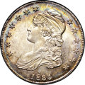 Bust Half Dollars, 1834 50C Small Date, Small Letters MS64 NGC. CAC. O-111, R.1....