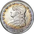 Bust Half Dollars, 1834 50C Large Date, Large Letters MS64+ NGC. O-103, R.2....