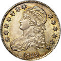Bust Half Dollars, 1829 50C Small Letters MS64 NGC. CAC. O-107, R.3....