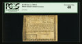 Colonial Notes:Rhode Island, Fully Signed Rhode Island July 2, 1780 $4 PCGS Extremely Fine 40.....