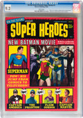 Magazines:Superhero, On the Scene Presents Super Heroes #1 (Warren, 1966) CGC NM- 9.2White pages....