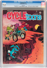 Cycletoons #1 (Petersen Publishing Co., 1968) CGC VF/NM 9.0 White pages