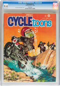 Magazines:Humor, Cycletoons #2 (Frederick S. Clarke, 1968) CGC NM 9.4 Whitepages....