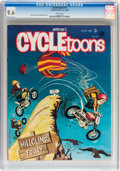 Magazines:Humor, Cycletoons #3 (Frederick S. Clarke, 1968) CGC NM+ 9.6 White pages....