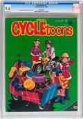 Magazines:Humor, Cycletoons #4 (Frederick S. Clarke, 1968) CGC NM+ 9.6 Whitepages....