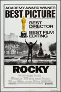 "Movie Posters:Academy Award Winners, Rocky and Other Lot (United Artists, 1977). One Sheets (2) (27"" X41"") Style B, Academy Awards Style. Sports.. ... (Total: 2 Items)"