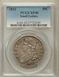 Bust Half Dollars: , 1832 50C Small Letters XF40 PCGS. PCGS Population (220/1679). NGCCensus: (123/1738). Mintage: 4,797,000. Numismedia Wsl. P...