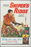 "Movie Posters:War, Sniper's Ridge and Other Lot (20th Century Fox, 1961). One Sheets(2) (27"" X 41""). War.. ... (Total: 2 Items)"