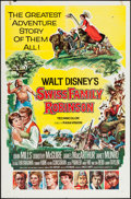 "Movie Posters:Adventure, Swiss Family Robinson (Buena Vista, 1960). One Sheet (27"" X 41"")Style A. Adventure.. ..."