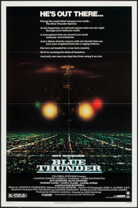 """Blue Thunder & Others Lot (Columbia, 1983). One Sheets (8) (27"""" X 41"""") & Photos (2) (8"""" X 10""""..."""