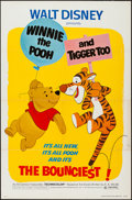 """Movie Posters:Animation, Winnie the Pooh and Tigger Too! (Buena Vista, 1974). One Sheet (27""""X 41""""). Animation.. ..."""