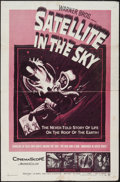 "Movie Posters:Science Fiction, Satellite in the Sky (Warner Brothers, 1956). One Sheet (27"" X41""). Science Fiction.. ..."