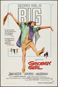 """Georgy Girl and Other Lot (Columbia, 1966). One Sheets (2) (27"""" X 41""""). Comedy. ... (Total: 2 Items)"""