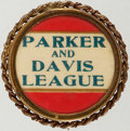 Political:Pinback Buttons (1896-present), Alton B. Parker: Name Pin in Roped Frame....