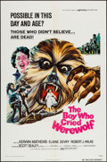 """Movie Posters:Horror, The Boy Who Cried Werewolf (Universal, 1973). One Sheet (27"""" X 41""""). Horror.. ..."""