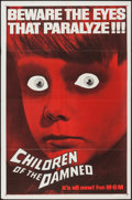 "Movie Posters:Science Fiction, Children of the Damned (MGM, 1963). One Sheet (27"" X 41""). ScienceFiction.. ..."