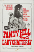 """Movie Posters:Sexploitation, Fanny Hill Meets Lady Chatterly & Other Lot (Chancellor Films,Inc., 1967). One Sheets (2) (27"""" X 41""""). Sexploitation.. ...(Total: 2 Items)"""