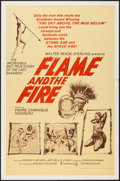 """Movie Posters:Documentary, Flame and the Fire (Continental, 1966). One Sheet (27"""" X 41""""). Documentary.. ..."""