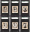 Baseball Cards:Lots, 1909 T204 Ramly Baseball SGC Graded Collection (11) With Griffith....