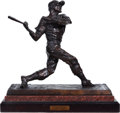 Baseball Collectibles:Others, 2006 Stan Musial Bronze Statue by Sculptor Who Created BuschStadium Statue Plus Smaller Bust....