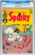 Silver Age (1956-1969):Humor, Spooky #76 File Copy (Harvey, 1963) CGC NM 9.4 Off-white to white pages....