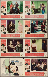 """All the Fine Young Cannibals (MGM, 1960). Lobby Card Set of 8 (11"""" X 14""""). Romance. ... (Total: 8 Items)"""