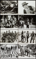 """Movie Posters:Western, The Wild Bunch (Warner Brothers, 1969). Oversized Photos (13) (11""""X 14"""" & Various Sizes). Western.. ... (Total: 13 Items)"""
