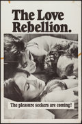 "Movie Posters:Sexploitation, The Love Rebellion (Cannon, 1967). One Sheet (27"" X 41"").Sexploitation.. ..."