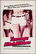 "Movie Posters:Sexploitation, Teenage Hitchhikers (NMD, 1975). One Sheet (27"" X 41""), and Photos(8) (8"" X 10""). Sexploitation.. ... (Total: 9 Item)"