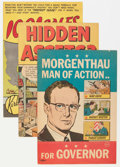 Golden Age (1938-1955):Miscellaneous, Comic Books - Assorted Golden Age Promotional Comics Group (Various Publishers, 1940s-'50s) Condition: Average FN.... (Total: 7 Comic Books)