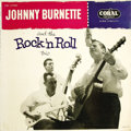 """Music Memorabilia:Recordings, """"Johnny Burnette and the Rock 'n Roll Trio"""" LP (Coral 57080, 1956).One of the most sought-after collectible records from Ro... (Total:1 Item)"""