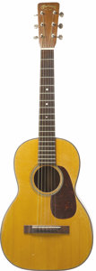 Musical Instruments:Acoustic Guitars, Jim Reeves Baby Martin Guitar. Here is a pint-sized Martin &Co. model number 5-18 acoustic guitar once owned by country sin...