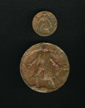 Expositions and Fairs, Columbian World's Fair Presentation Medals Two-Piece Lot.... (Total: 2 medals)