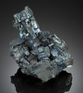 Minerals:Small Cabinet, CHALCOCITE. Bristol Copper Mine, Bristol, Hartford County, Connecticut, USA. ...