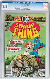 Swamp Thing #23 (DC, 1976) CGC NM/MT 9.8 White pages